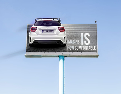 outdoor billboards cars project