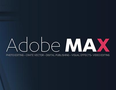 Adobe Max Prototype