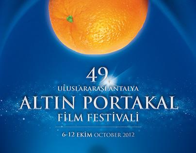 49th Golden Orange Film Festival | Poster