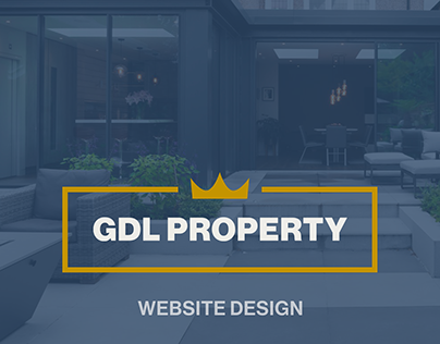 Website design for GDL Property