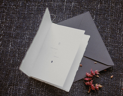 Sélène & Jean | Wedding invitation