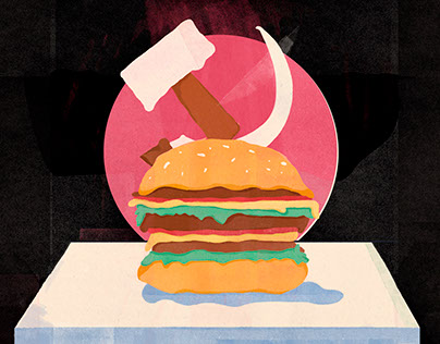 The firstMcDonald's inThe Soviet Union and other