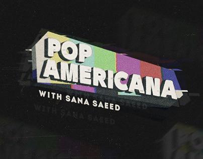 Pop Americana Youtube Show Branding