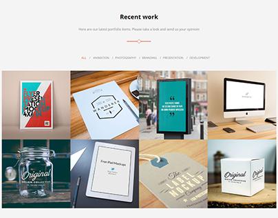 Elegant Business Website