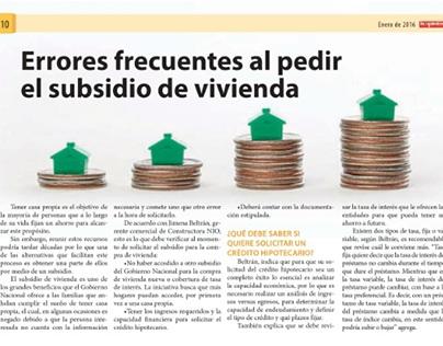 Errores frecuentes al pedir el subsidio de vivienda