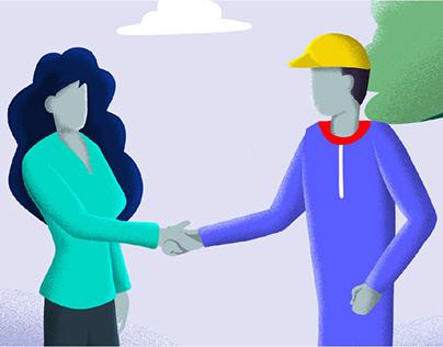 Illustration for Find Service
