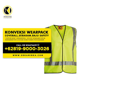 WA +62 819-9000-3026 - Jasa Sablon & Konveksi Wearpack