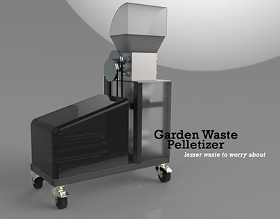 Garden Waste Pelletizer