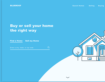 Real Estate Landing Page Banner