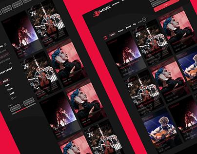 E-Music Multipage Project