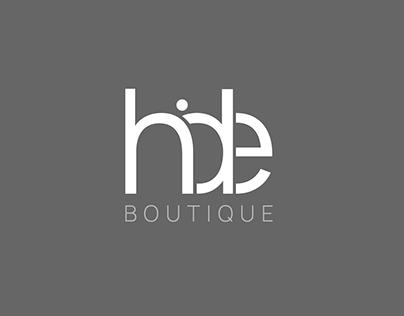 Hide Boutique Branding Design