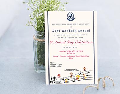 Annual Day Invitation