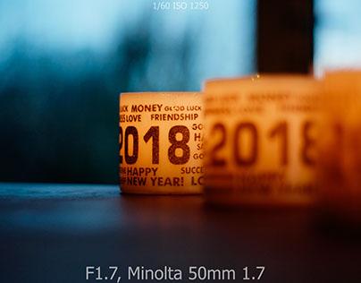 Minolta F1.7 F1.4 F1.2