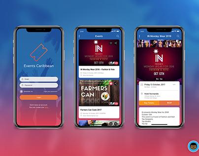 Events Caribbean Mobile App