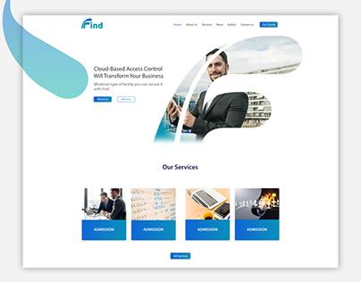 Find Consulting - Website Design & Development