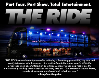 THE RIDE: some freelance work January 2013