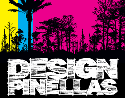 Design Pinellas branding, logo, and business card