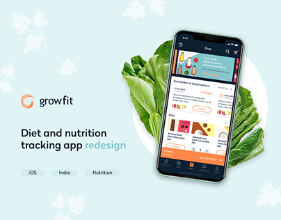 GrowFit - diet and nutrition app
