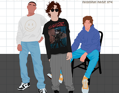 Free Cutout People Illustration - Fashion Pack 3