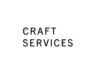 Craft Services Mockups
