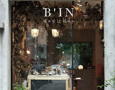 B'IN Day to Day Branding Design