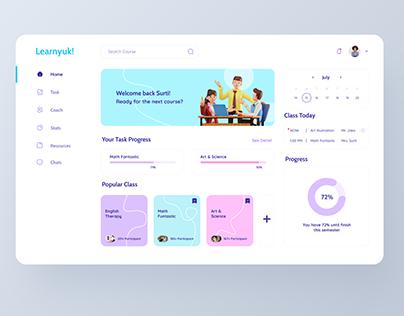 Online Course Dashboard