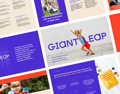 Giant Leap / Pitch Deck Design