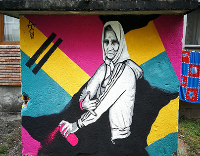 Gangsta' Mural