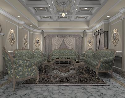 Mirdif Villa Interior Project