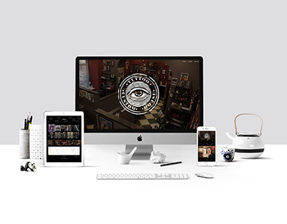 Website Design for www.customhousetattoo.com