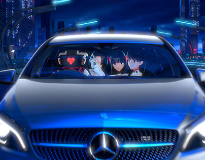 Mercedes-Benz × Perfume | The new A-Class : Next Stage