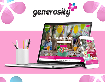 Generosity Website Design