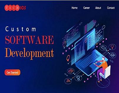 Custom Software Development - Tech ICS