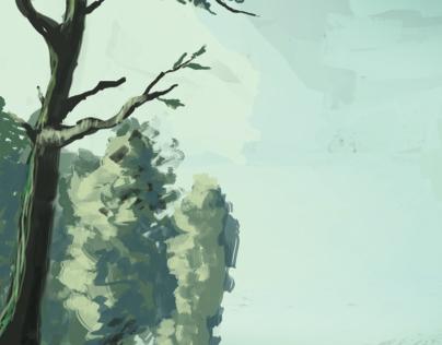 Swamp sketch