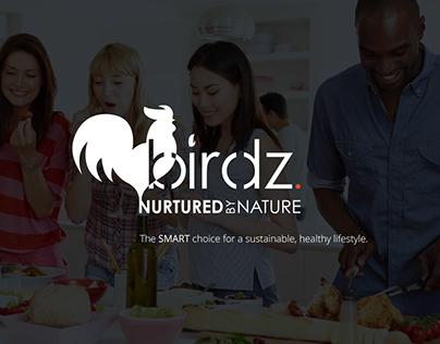 Birdz. Branding / Marketing Material