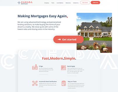Cahaba Mortgage Website Design and Development