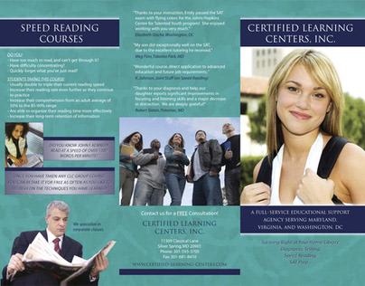 Circa 2002ish Company Brochure for Educational Firm CLC