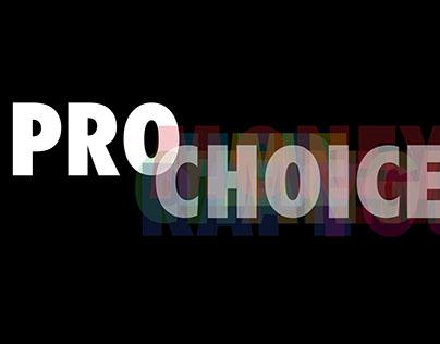 Poster Design: prochoiceamerica.org