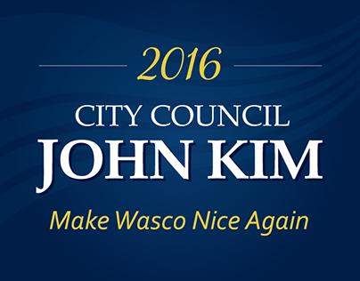 John Kim for City Council 2016