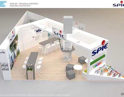 Stand Spie Salon SIMI 2015 Paris