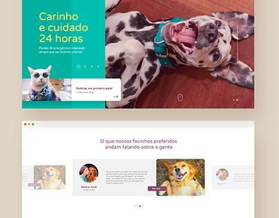 Wellpet. Website Design.