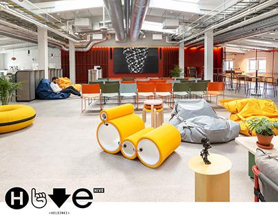 Hive Helsinki - Interior