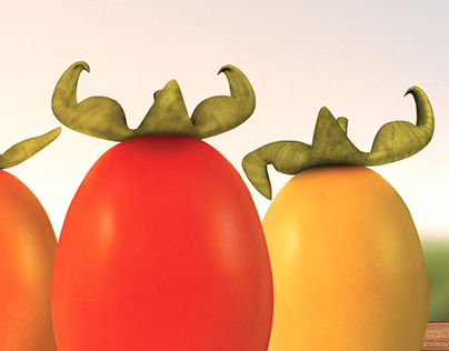 Print Ad: Strong Tomatoes