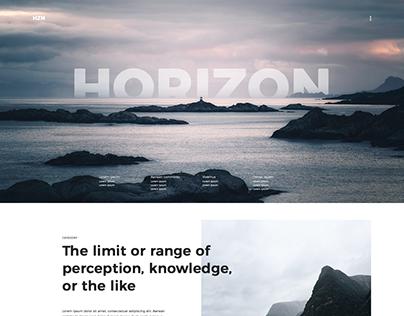 Horizon concept