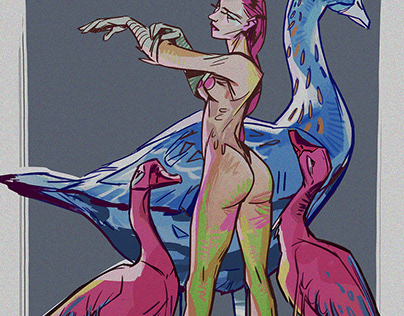 girls, butts, geese and the video process