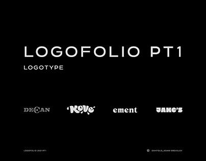Logofolio Part 1 : Drinks logos and Logotype