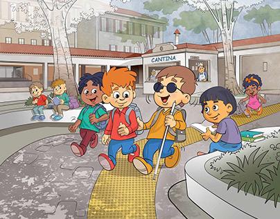 ilustração para livro