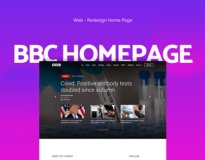 BBC Homepage Redesign