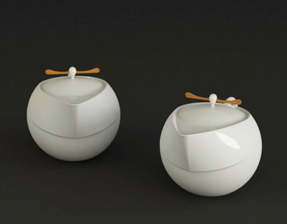 Tales-Tea set design 神話言-「官」中式茶具組設計