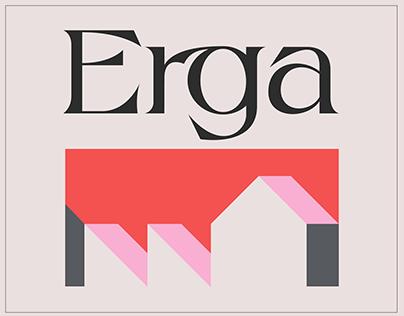 Erga - Display Typeface